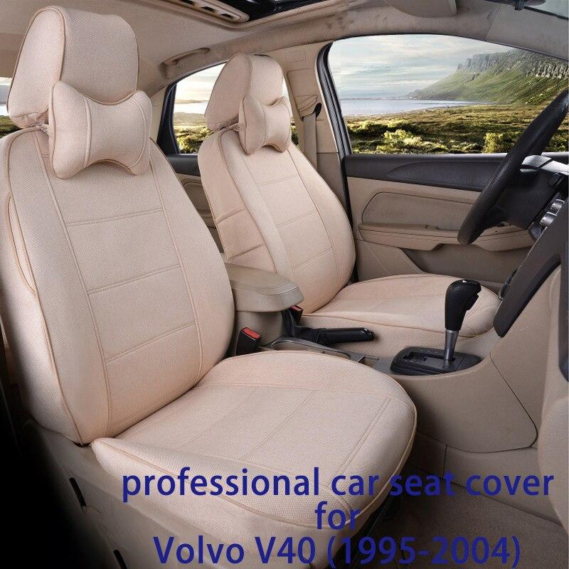 Ensemble housse de siège de voiture Legua pour Volvo V40 (1995-2004) protection de siège de voiture étanche accessoire intérieur tapis souple siège de voiture