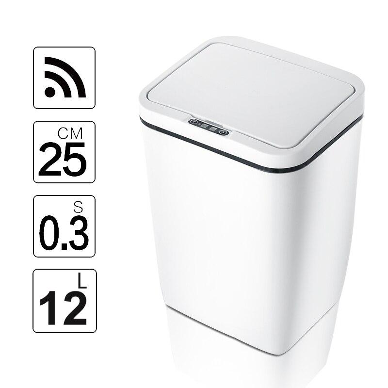 Clearance SaleKitchen Trash Waste-Garbage-Bin Induction-Motion-Sensor Touchless Intelligent Eco-Friendly