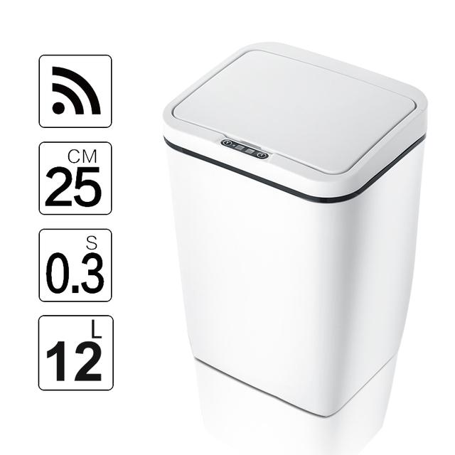 NEW Innovative Automatic Intelligent Motion Sensor Kitchen Trash / Garbage Bin