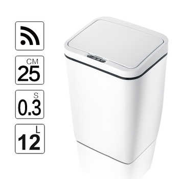 Capteur de mouvement à induction Intelligent sans contact automatique poubelle de cuisine capteur douverture large poubelle écologique