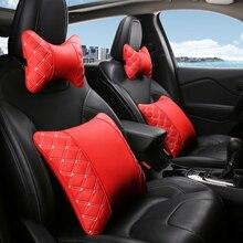 KKYSYELVACar Covers Car Neck Pillow Lumbar Support for Office Chair  Seat cushion car