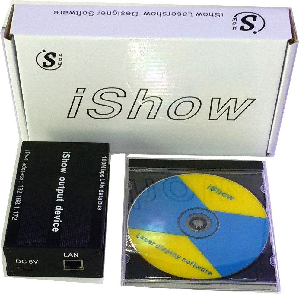 2016 New Ishow3 Ilda Laser Show Software Scanner Laser