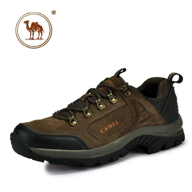 New authentic men's outdoor camel mountain hiking shoes fashion leisure  sports shoes ADM-016 two