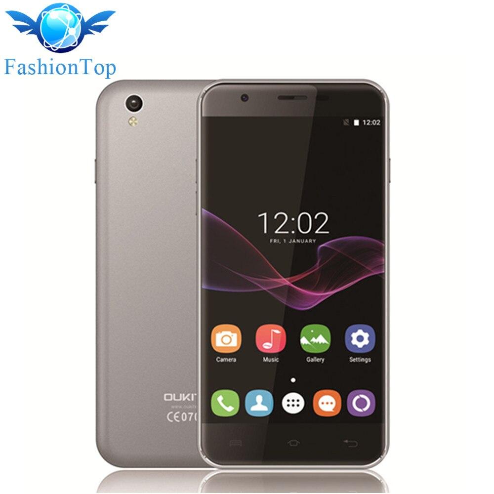 Цена за Oukitel U7 Макс 5.5 ''Мобильный Телефон Android 6.0 MTK6580A Quad Core 1 Г RAM 8 Г ROM Смартфон 8MP Камера 2500 мАч 3 Г WCDMA Мобильного Телефона