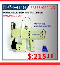 GK9-018 Manual Sewing machine, hand bag sewing machine,hand packet machine,automatic tangent,hand woven sewing tool,sack closer