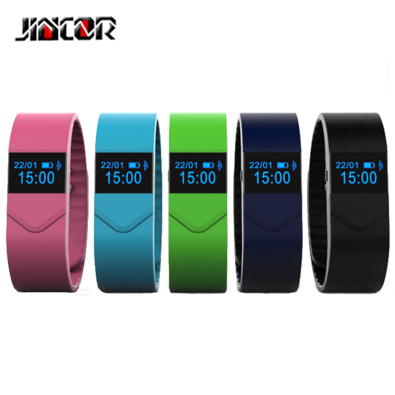 JINCOR Smart Bracelet M5 Smart Sports Bracelet Blood Pressure Blood Oxygen Monitoring Fatigue Monitoring Remote Control
