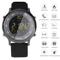 GIMTO Digital Smart Watch Men Sport Military Bluetooth Pedometer Watch Mens Stopwatch Waterproof Silicone Band LED Wrist Watches