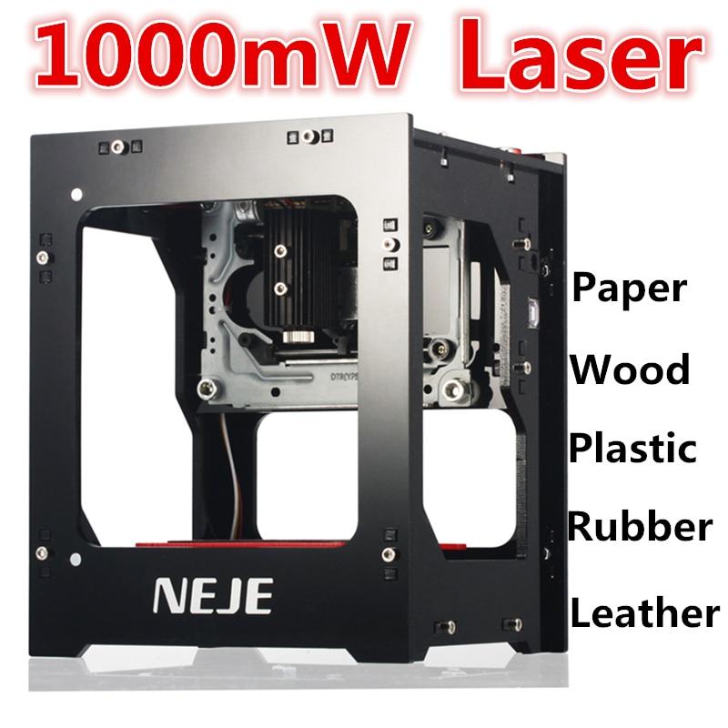 1000mW Mini Cnc Engraving Machine Laser Cutter DIY Print Laser Engraver High Speed Protective Glasses Laser Engraving Machine