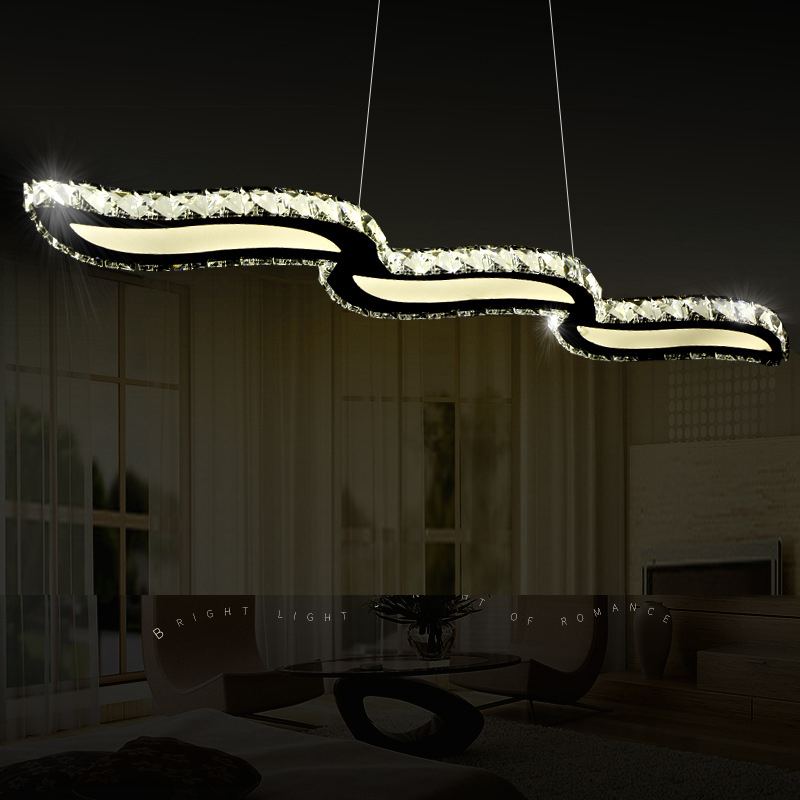 modern led pendant lights for dining room kitchen shop pendant lamp led suspension luminaire retro bedroom lighting restaurant led crystal pendant lights for dining room kitchen restaurant lighting modern pendant lamp indoor led fixtures luminaire light