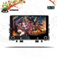 2DIN RAM 4G+64G Android 9.0 Octa Core 1024*600 For KIA RIO 2017 2018 Car DVD Player Navigation GPS Radio Head Unit Screen System
