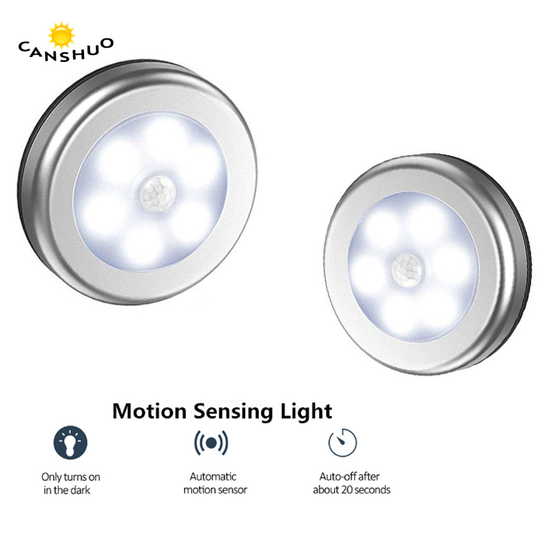 PIR Body Motion Sensor Activated Led Cabinet Light Night Light Induction Wall Lamp Closet Corridor Cabinet Emergency Lighting(China)