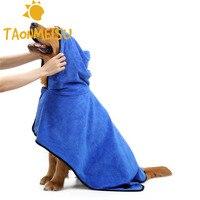 أحدث لينة الألياف منشفة فائقة الامتصاص كلب القطط البشكير جرو الكلب كيتي التهيأ towl 2 ألوان الحجم s/m/l/xl العرض