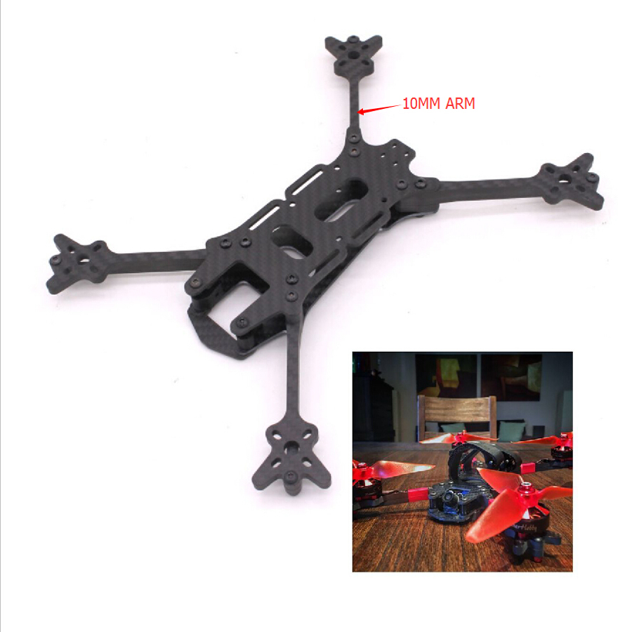 PUDA Vert Racer 5 Quadcopter Frame kit Arm Thickness 5mm 10mm tall 4 5mm wide For