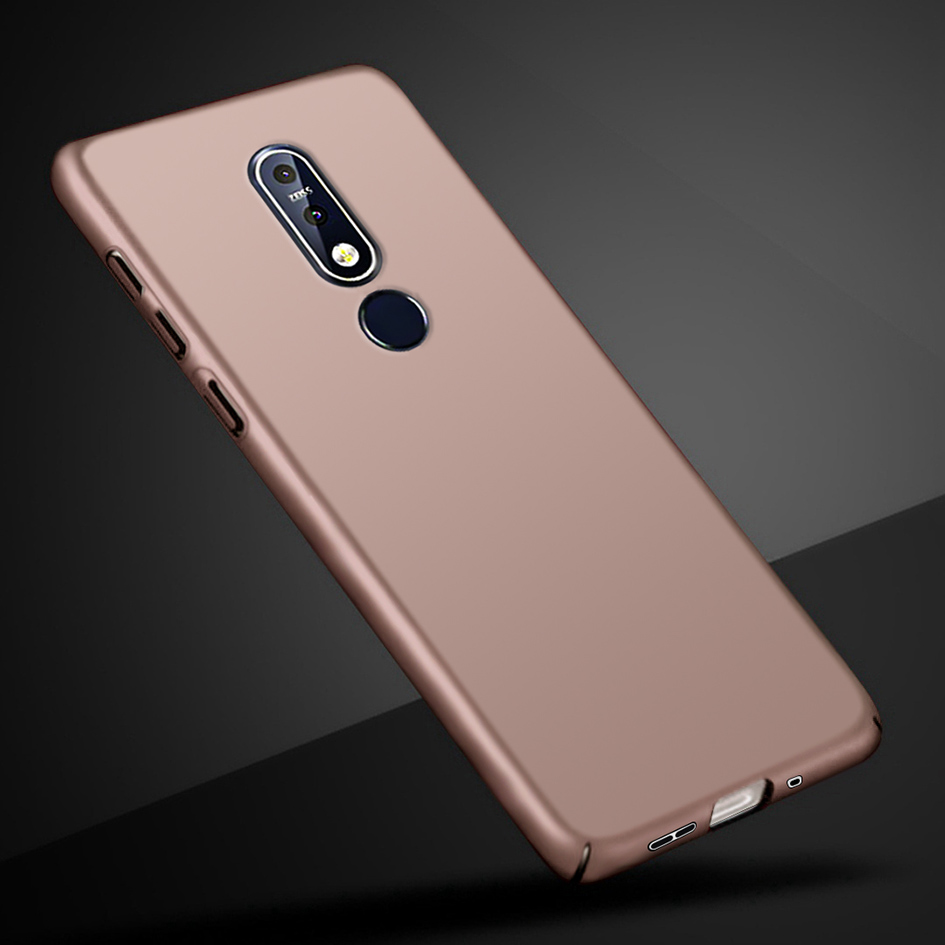 Case For <font><b>Nokia</b></font> <font><b>7.1</b></font> 6.1 3.1 2.1 Shockproof Cover Hard PC Phone Case For Nokia7.1 6.1 Nokia3.1 2.1 2018 Back Cover Protector Shell image