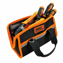 JAKEMY Portable Electrical Tools Bag Oxford Bag Repair Tool Packaging Kit Pocket Pouch 270mm*120mm*150mm 13 inches tool bag kit large size tools bag 23x21x33cm