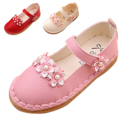 Девушки Сандалии Принцесса Девушки Shoes Весна Лето Детей Shoes Baby Дети Кожа Shoes Сандалии для Девочек Девочка Танцы Обуви