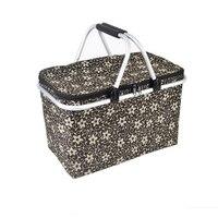 Thermal Food Lunch Bags Waterproof Cooler Bag Tote Oxford Cloth Bag Picnic Box Bags