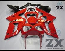Carenagens da motocicleta para KAWASAKI Ninja ZX6R 636 ZX 6R 03 04 zx 6r 2003 2004 03 injeção ABS carenagem kits SUK 6005 UV