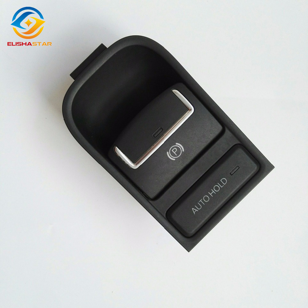 ELISHASTAR OEM font b Electronic b font Parking Brake Automatic Switch for VW TIGUAN SHARAN SEAT