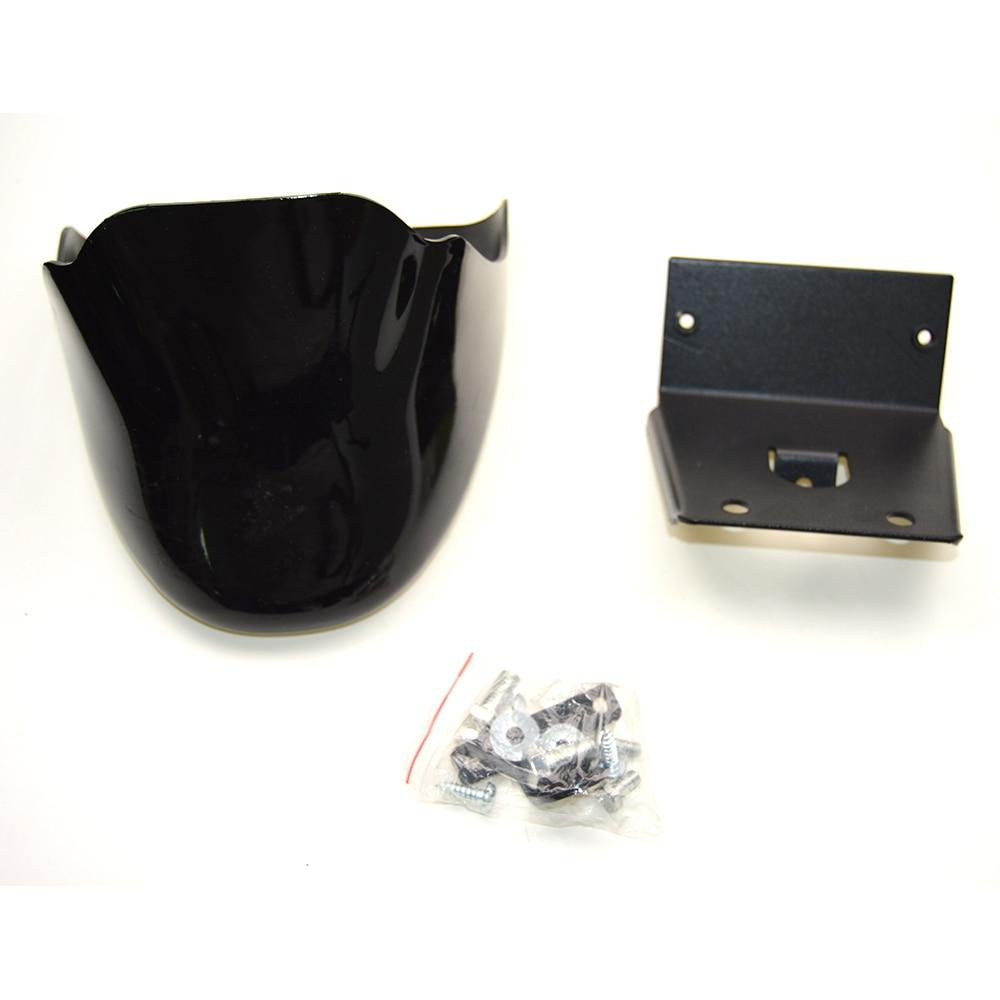 Передний спойлер подбородка обтекатель Ф/ ЦФ Харлей Дэвидсон Спортстер XL883 XL1200 черный глянец