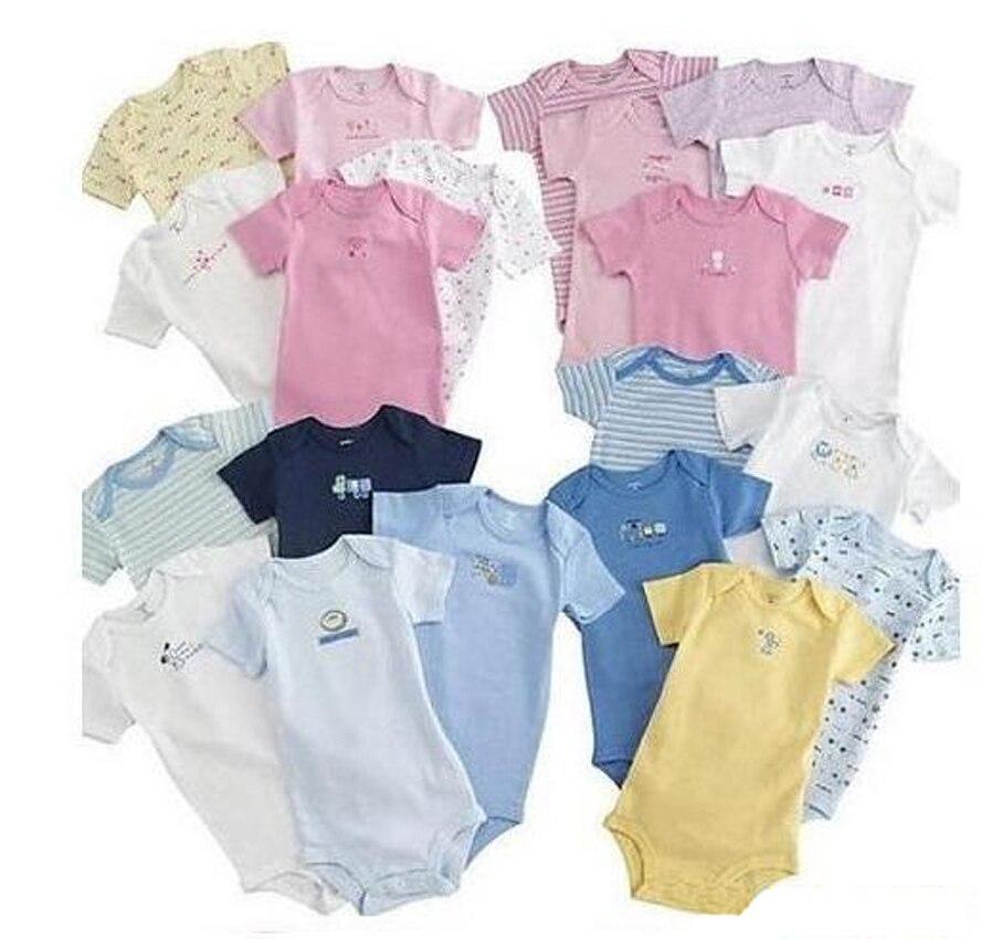 ŁATWY WIELKI Śliczny Piękny 5 Sztuk / paczek 100% Bawełna Body - Odzież dla niemowląt - Zdjęcie 3