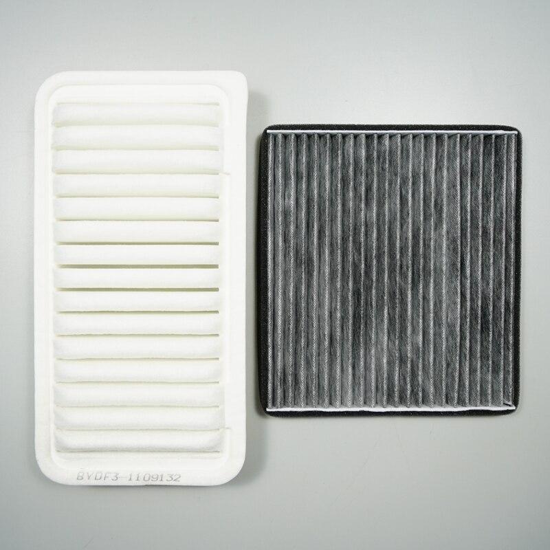 BYD F3/F3R/L3/G3/G3R воздушный фильтр: 17801-22020 cbin фильтр: 88568-52010