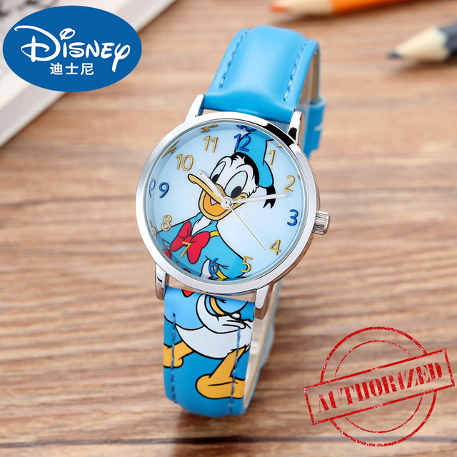 Disney Watch Kids Fashion New Animated Characters Watch for Kids Children Donald