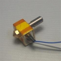 Funssor MK10 zestaw do montażu  która nienawidzi blok czy za baryłkę wkład grzewczy termopara typu K dla Flashforge albo sny miewający 3D części drukarki hotend kit block heaterprinter hotend -