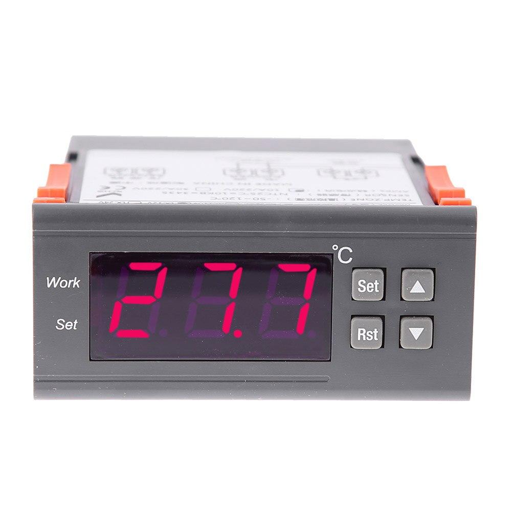 10A 12V Adjustable Digital Procedure Temperature Controller s