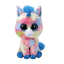 6'' 15cm Blitz The Blue Unicorn Plush Regular Soft Big-eyed Stuffed Animal Collectible Doll Toy