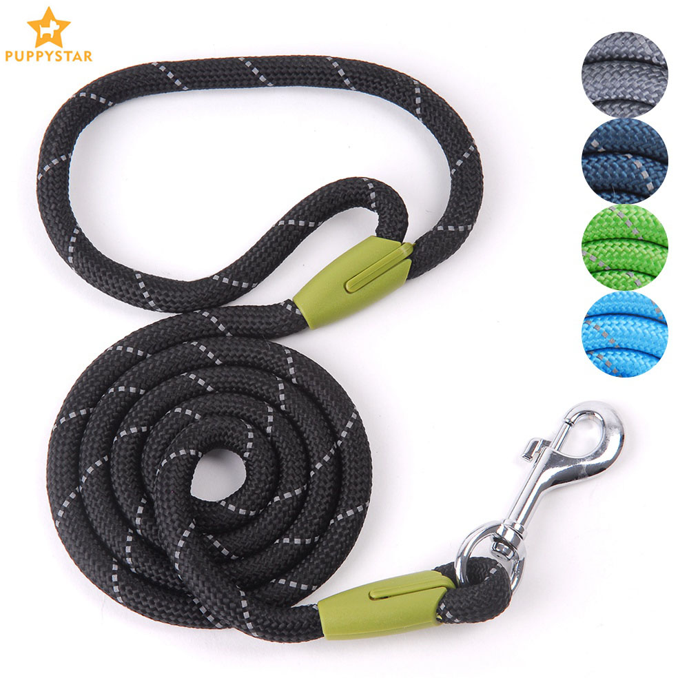 Pet Products Dog Leash For Small Large Dogs Leashes Reflective Dog Leash Rope Pets Lead Dog-Collar Harness Nylon Running Leashes xanes a6s