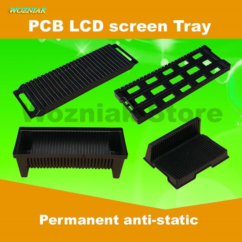 Delightful Wozniak Anti Static Mobile Phone LCD Screen Tray PCB Strip ESD Circuit  Board Component Box Insert Disk