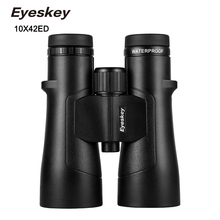 EYESKEY NEW BS-ED10X42 Binoculars Extra-low Dispersion SMC Coating BAK4 Prism Magnesium alloy Body Nitrogen waterproof Telescope dpfl 012p single wavelength polarization dispersion prism mode
