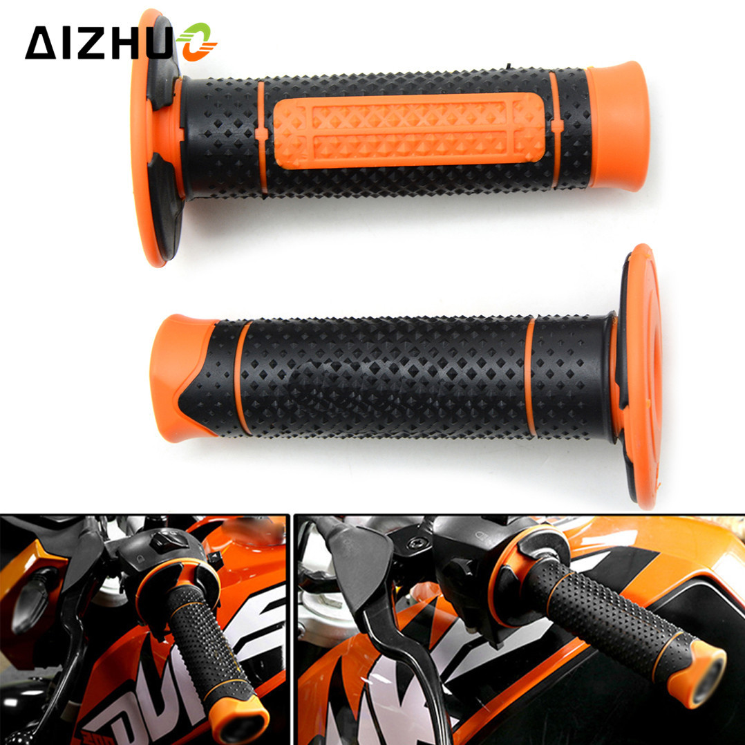 Universal 7//8/'/' 22MM CNC Motorcycle handle grips racing handlebar grip for KTM