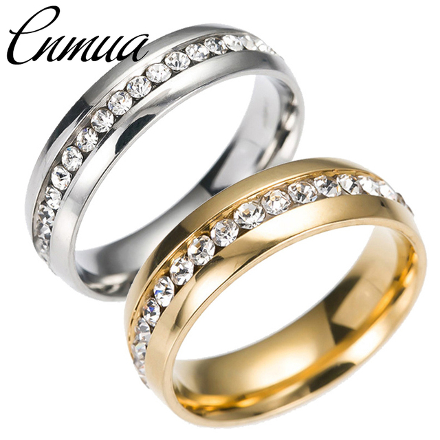 European and American New Jewelry Popular Design Titanium Steel rings Simple Sin