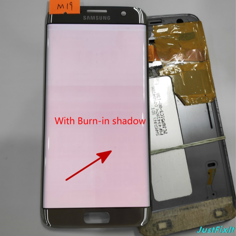 NO M19 for Samsung Galaxy S7 edge G935F G935FD Defect Spot Lcd display touch screen Digitizer