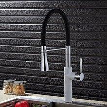 Бесплатная ДОСТАВКА европейской жизни Латунь Кухня Раковина кран с одной ручкой кухонный кран и латуни раковиной водопроводной воды