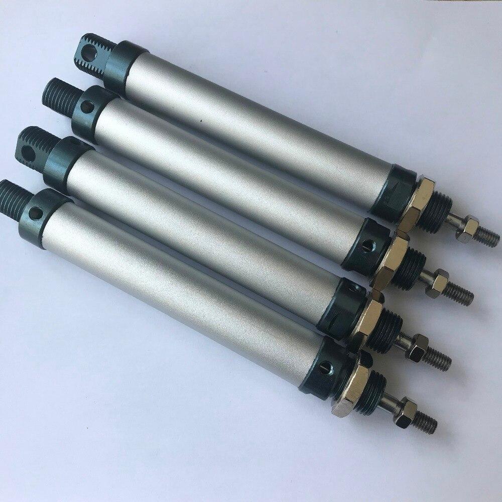 Bore 25mm X 250mm tipo di corsa a doppia azione In Lega di Alluminio Mini Cilindro cilindro pneumatico cilindro dellariaBore 25mm X 250mm tipo di corsa a doppia azione In Lega di Alluminio Mini Cilindro cilindro pneumatico cilindro dellaria