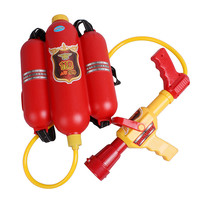 Novelty Water Gun For Kid Boy And Girl OVER 3 Yrs Old Fireman Backpack Pressure Water