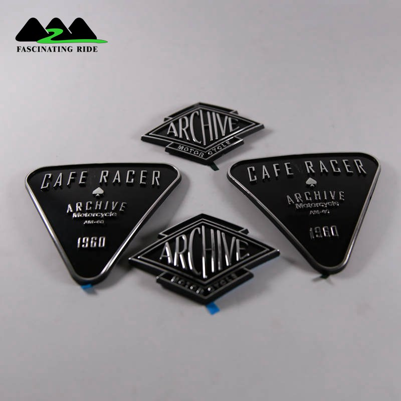 Applicable To Harley Retro Labeling Motorcycle 3D Fuel Gas Tank Sticker Emblem Badge Decals Motorcycle Accessories