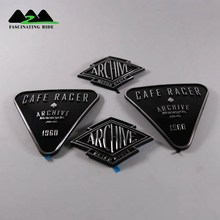 Applicable to Harley retro labeling Motorcycle 3D Fuel Gas Tank Sticker Emblem Badge Decals Accessories