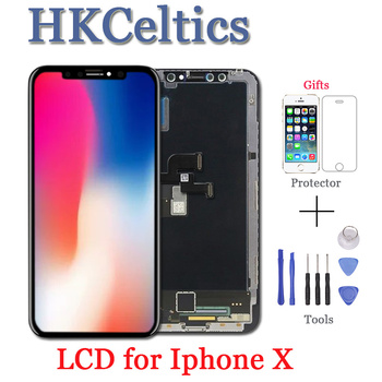 High Quality LCD For iPhone X LCD Display +Touch Screen Digitizer Assembly 1:1 Display Replacement for iPhoneX Support face ID
