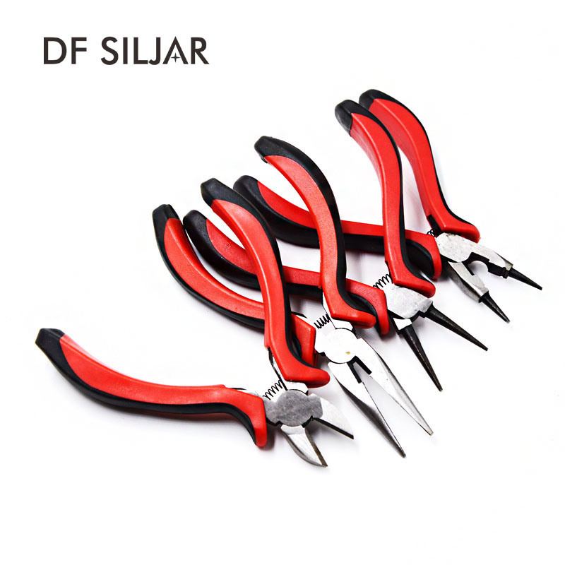 Jewelry Tools Equipments Mini Pliers Jewelry Pliers Cutting Needle Nose Pliers DIY Jewelry Earrings Necklace Findings Y1731