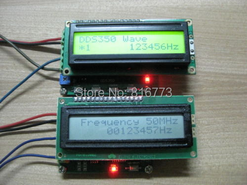 High Frequency Meter : Frequency meter tester high range mhz ghz