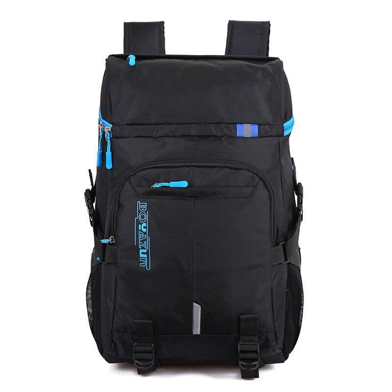 2018 Laptop Backpack Women Waterproof Men's Backpacks Large Capacity School Bag Oxford Black Travel Bag For Teenager Mochia
