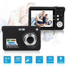 цена на new Ultra-slim 2.7 inch LCD Screen 8X Zoom 18 MP Digital Camera Video Camcorder Gift