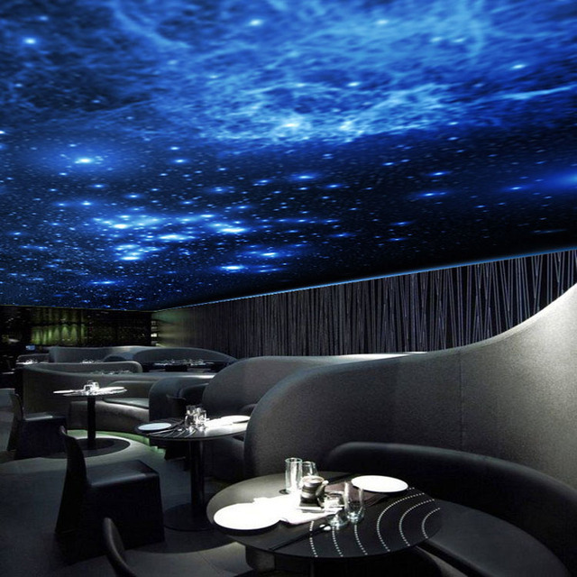 3d Wallpaper Walls Decoration High Quality Customize The Milky Way