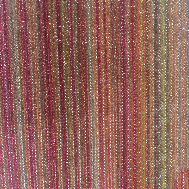 Nouveau 90*137 paillettes Faux cuir synthétique tissu Chunky paillettes rayures cuir pour Hairbow sacs chaussures bricolage matériel de décoration