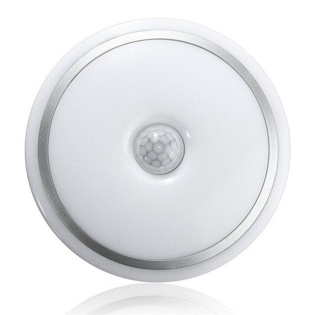 12w Led Pir Sensor Infrared Ceiling Light Flush Mounted Decor Home