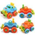 1: 800 Детские Пластиковые Автомобиль Игрушки DIY Разборка Сборка Модель Инструмент Отвертка Классический Автомобили Грузовик Развивающие Игрушки Детям Подарки